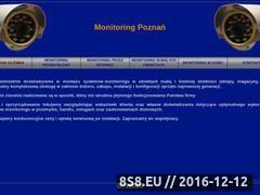 Miniaturka domeny www.monitoringpoznan.pl