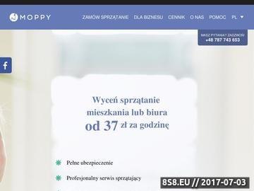 Zrzut strony Usługi sprzątające w Warszawie