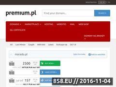 Miniaturka domeny morado.pl