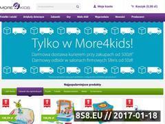 Miniaturka domeny more4kids.pl