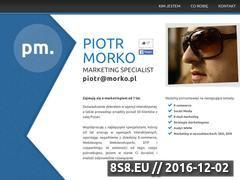 Miniaturka domeny morko.pl