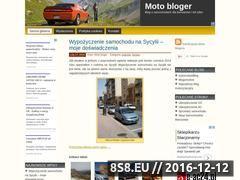 Miniaturka domeny www.motobloger.pl