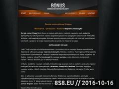 Miniaturka domeny motobonus.eu