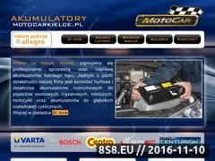 Miniaturka domeny www.motocarkielce.pl