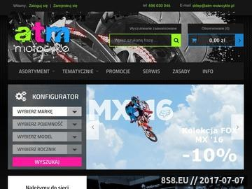 Zrzut strony Quady kraków, serwis motocyklowy, Akcesoria Modeka, Shoei, Polaris.