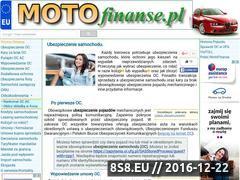 Miniaturka domeny motofinanse.pl