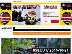 Miniaturka domeny www.motogen.pl