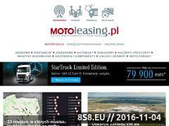 Miniaturka domeny www.motoleasing.pl