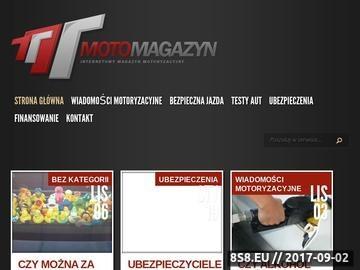 Zrzut strony Moto Magazyn - motoryzacja to nasza pasja!