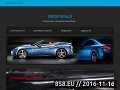Miniaturka domeny motorsite.pl