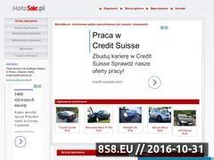 Miniaturka domeny www.motosale.pl