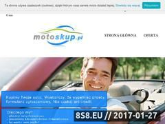 Miniaturka domeny www.motoskup.pl