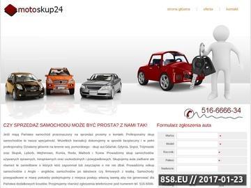 Zrzut strony Skup aut uszkodzonych, sprawnych i niesprawnych