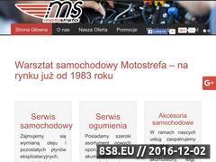 Miniaturka domeny www.motostrefa.olsztyn.pl