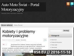 Miniaturka domeny motoswiat.auto.pl