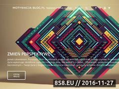 Miniaturka domeny motywacja-blog.pl