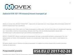 Miniaturka domeny www.movex-transport.pl