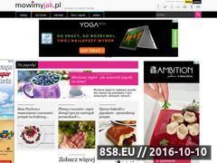 Miniaturka domeny www.mowimyjak.pl