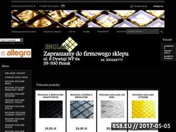 Zrzut strony Mozaika - sklep mozaika szklana