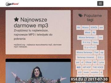 Zrzut strony Wyszukiwarka mp3