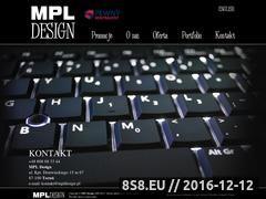 Miniaturka domeny www.mpldesign.pl