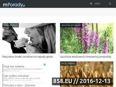 Miniaturka domeny www.mporady.pl