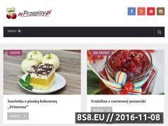 Miniaturka domeny www.mprzepisy.pl