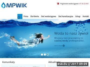 Zrzut strony MPWiK Wągrowiec - przedsiębiorstwo wodociągów