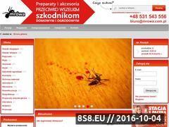 Miniaturka domeny www.mrowa.com.pl