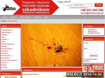 Zrzut strony MRÓWA - Preparaty na Karaluchy i Pluskwy, Trutki na Szczury