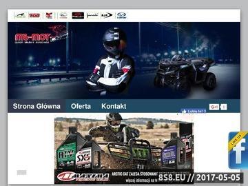 Zrzut strony MS-MOT - sprzedaż skuterów