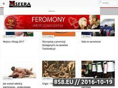 Miniaturka domeny www.msfera.pl
