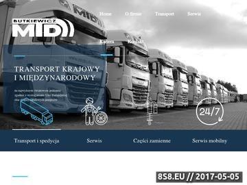 Zrzut strony Międzynarodowy Transport Drogowy