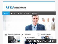 Miniaturka domeny www.mtjelectronics.pl