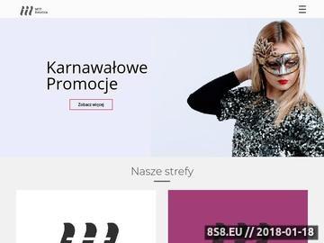 Zrzut strony Klinika medycyny estetycznej i kosmetologii Kraków