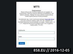 Miniaturka domeny www.mtti.pl
