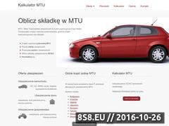 Miniaturka domeny mtu-kalkulator.pl