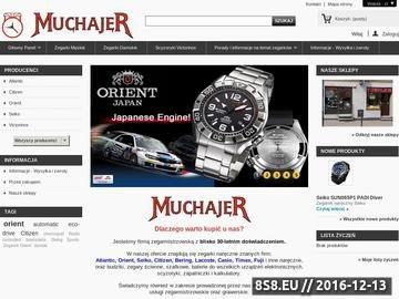 Zrzut strony Firma MUCHAJER naprawy zegarków