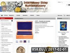 Miniaturka domeny www.multi-monety.pl
