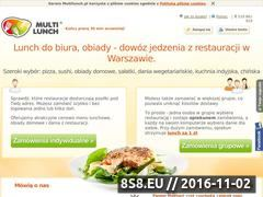 Miniaturka domeny www.multilunch.pl