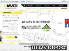 Miniaturka domeny www.multinieruchomosci.pl