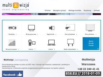 Zrzut strony Multiwizja.eu to obsługa techniczna