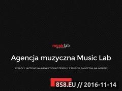 Miniaturka domeny music-lab.pl