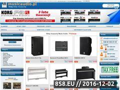 Miniaturka domeny www.musicaudio.pl