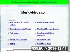 Thumbnail of Music Videos Website
