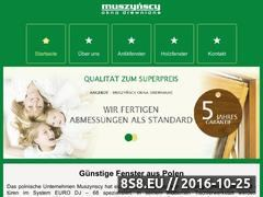 Miniaturka domeny muszynscy.pl