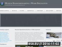 Miniaturka domeny www.muzeum-spadochroniarstwa.strefa.pl