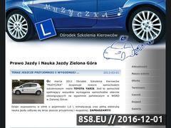 Miniaturka Ośrodek Szkolenia Kierowców MUZYCZKA (www.muzyczka.auto.pl)