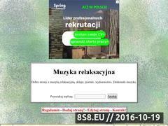 Miniaturka domeny muzyka-relaksacyjna.toplista.pl
