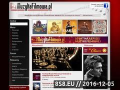 Miniaturka domeny www.muzykafilmowa.pl